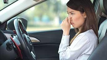 차 내부 대기 오염