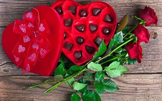czekolada zamiast kwiatów