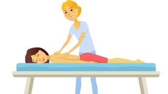 Probieren Sie eine Massage zur Schmerzlinderung