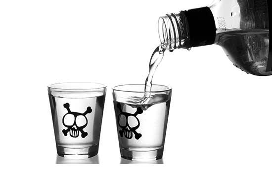 술과 독약