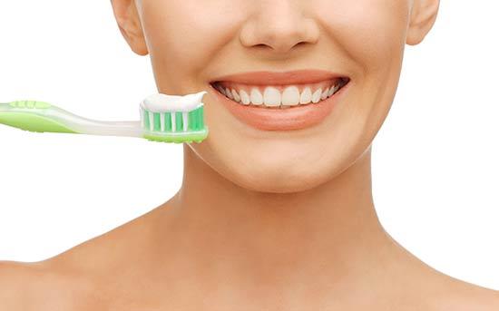 正确的刷牙方