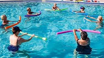 수중 운동의 이점