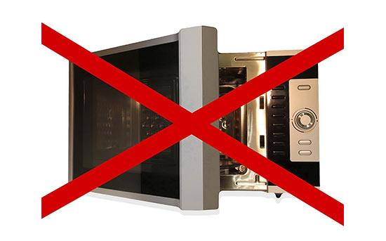 Gefahren durch Mikrowellen