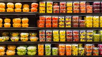 aviso sobre as frutas pré-cortadas