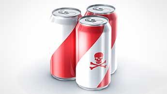 Boire du soda lorsque vous travaillez par forte chaleur risque d'endommager vos reins