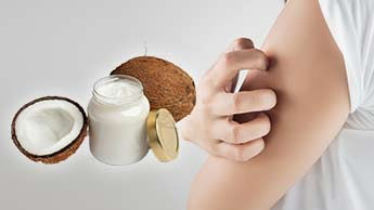 코코넛 오일은 가렵고 건조하며 각질이 있는 피부에 효과가 있을까요?