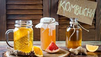 O que é chá de kombucha?