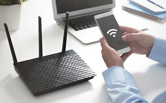 와이파이 사용