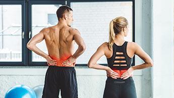 exercices pour le mal de dos