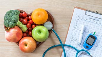 nutrição e diabetes