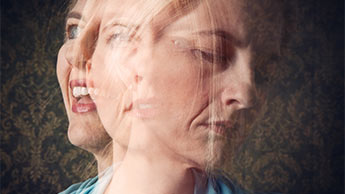 kobieta z chorobą dwubiegunową