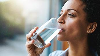 gefiltertes Haushaltswasser