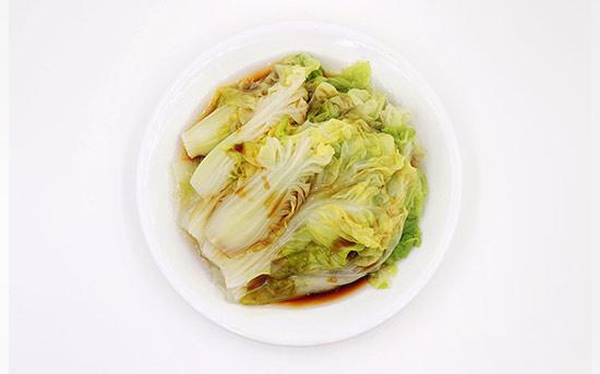 水煮卷心菜