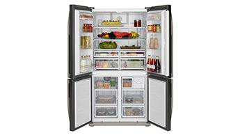 Sauberer Kühlschrank
