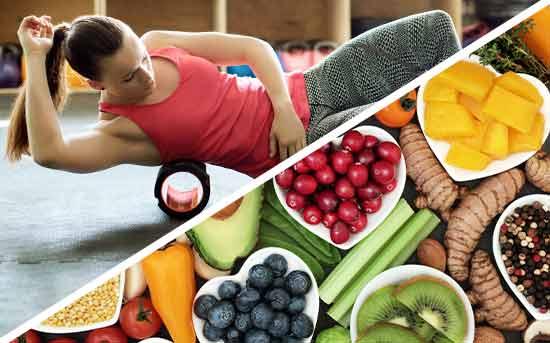 근육통 식품
