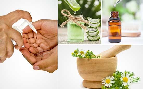 Natürliches Handdesinfektionsmittel