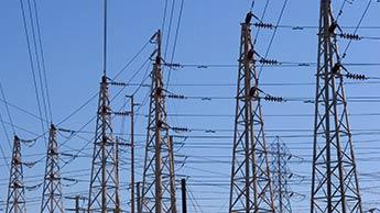 cabos telefônicos de eletricidade
