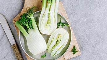 Le fenouil et les légumes fermentés