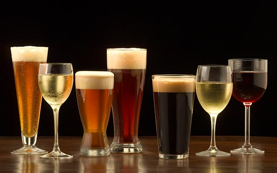 와인과 맥주