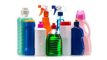 Produits ménagers chimiques