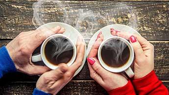 I benefici del caffè e del tè