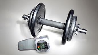 monitor de peso e pressão