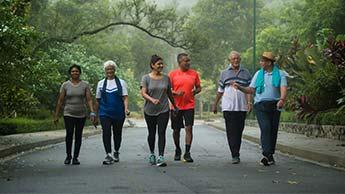Exercice pour la sante des seniors