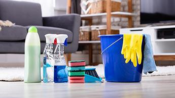 mélange produits nettoyage