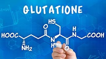 Carenza di glutatione associata al COVID-19