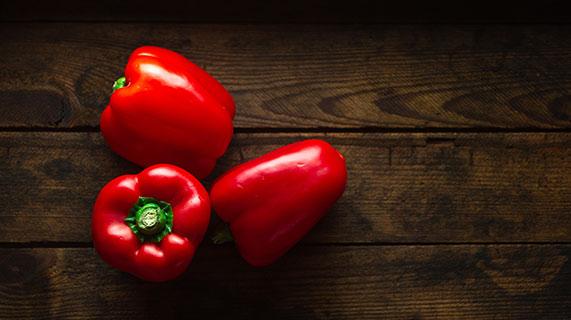 poivrons rouges
