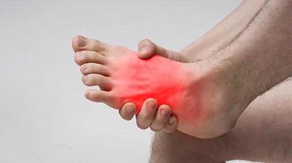 douleurs pieds