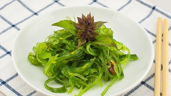 aliments à base d'algues marines