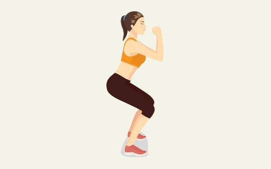 Come eseguire lo squat perfetto