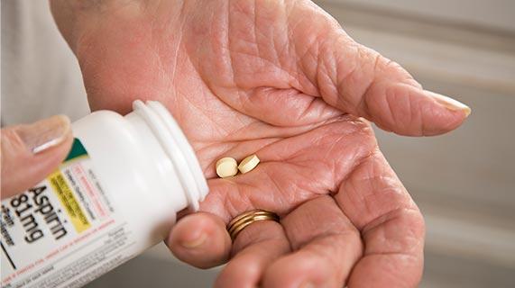 efeitos colaterais da aspirina
