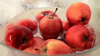 사과 세척