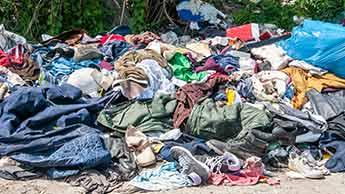 옷 쓰레기