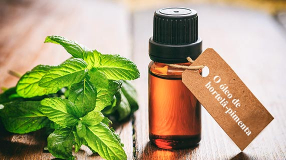 óleo de hortelã-pimenta para SII