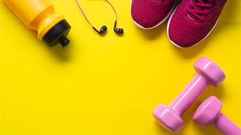 accessoires pour pratiquer une activité sportive