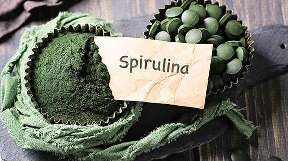 Beneficios da spirulina