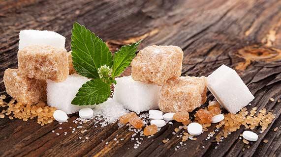 différentes sucres