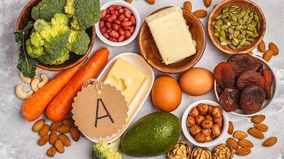 vitamine a pour la peau