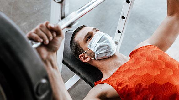 port masque pour faire du sport