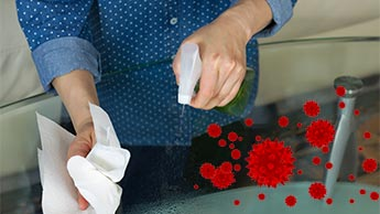 Quel est le meilleur désinfectant pour les surfaces ?