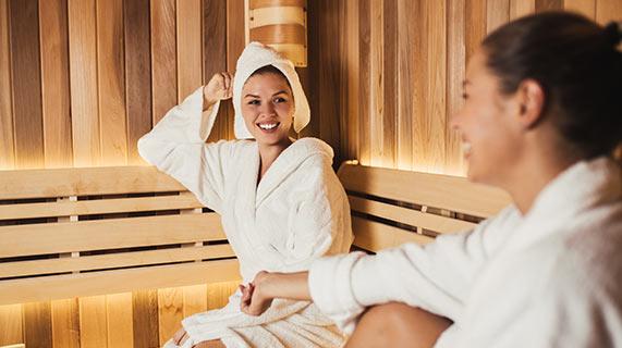 Sauna é usada como imitação de exercícios para a saúde cardíaca
