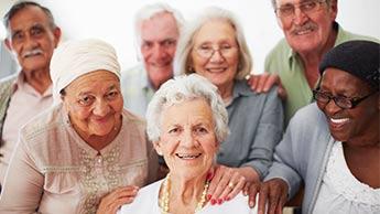 高齢者のグループ