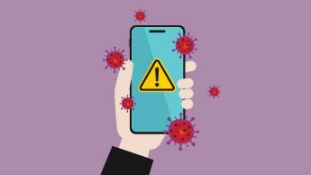 diffusione del coronavirus usando il tuo cellulare