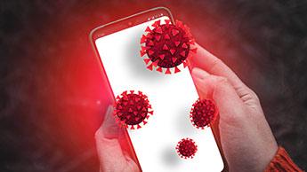мобильный телефон коронавируса