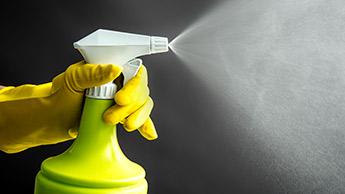 intoxication par les désinfectants