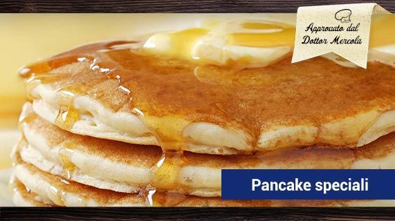 Pancake farina di cocco e mandorle