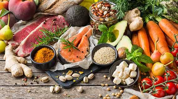 건강에 이로운 식품